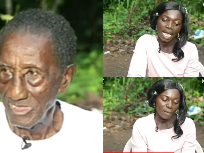 1a1452eb73280094de57fc44fe27166d?quality=uhq&resize=720 - This Is True Love, He Makes Me Happy -Lady Who Married The 97-year Old Reveals It All On Live TV