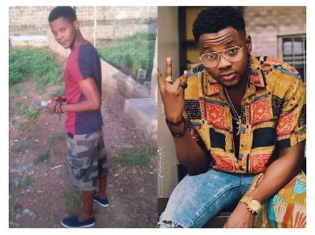 See Lovely Photos Of Kiss Daniel Before He Became Rich
