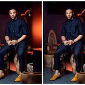 BBNaija Ozo dazzles in a black new outfit