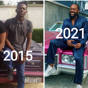 I Was Inspired To Work Hard After I Saw This Old Photo Of Adekunle Gold, See How He Looks Like Today