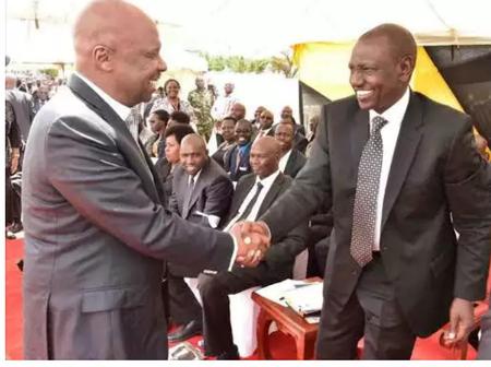 Ruto Tells 'Gideon Moi'To Cease Calling Him a Thief
