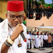 IPOB Blows Hot, Read What They Said About South East's Newly Created Security Outfit Ebube Agu