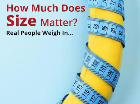 Does Size really matter when you love a guy? Read this article to find out