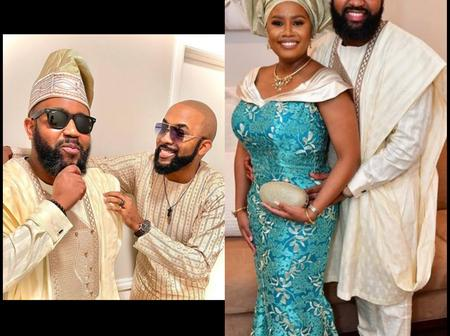Checkout Banky W's look alike brother who got married recently