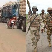After These Trucks Were Prevented By Northerners From Moving To South/West, See What Soldiers Did