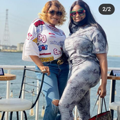 Popular Actress, Oge Okoye And Adanma Juliet Giving Us Friendship Goals In Today's Photos