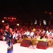 بالفيديو| روبي تشعل الأهرامات برقصة شقية على أنغام «ليه بيداري كدا»