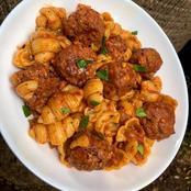 Boerewors pasta dinner recipe