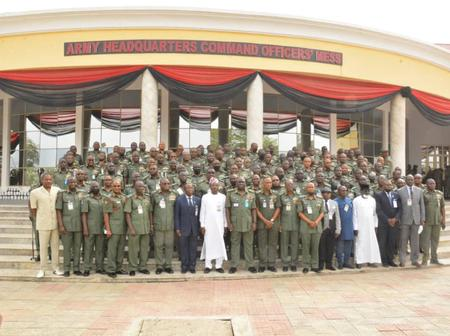 My Vision Will Rebuild The Nigerian Army To A Formidable Force - COAS Tells Nigerians.