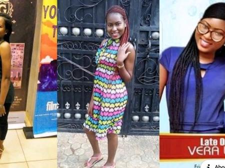 Miss Vera Uwaila, the young girl who was rapped and murdered in a church, finally puts to rest today