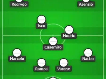 Real Madrid Predicted Lineup against Huesca.