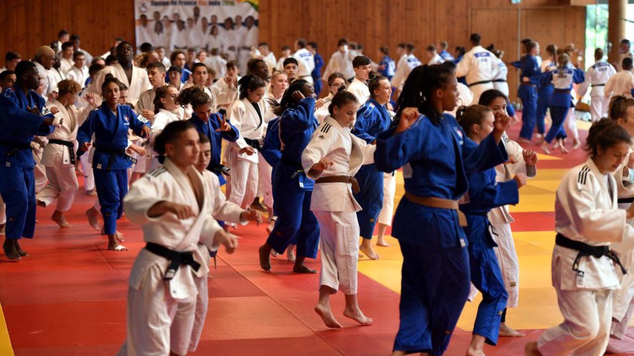 L'équipe de France cadets de judo en stage à Cahors aimerait pérenniser ce site d'entraînement estival