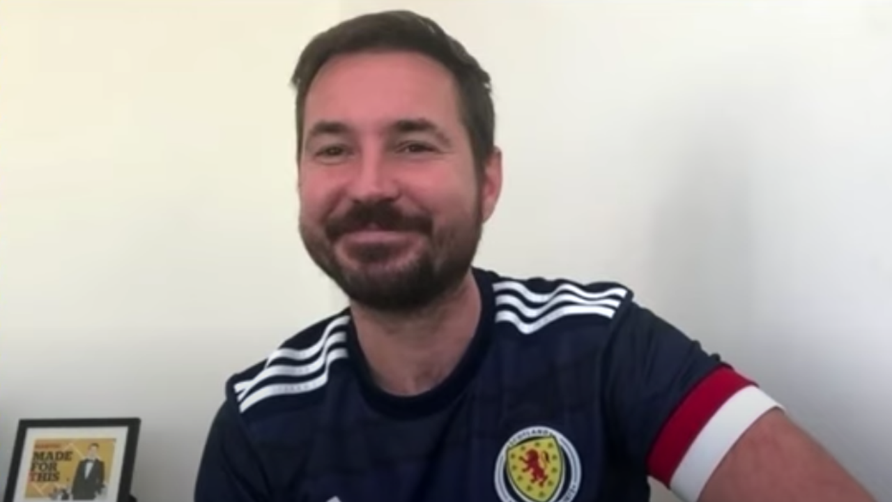 Martin Compston opens up on Line of Duty celebration and recalls Griffiths goal