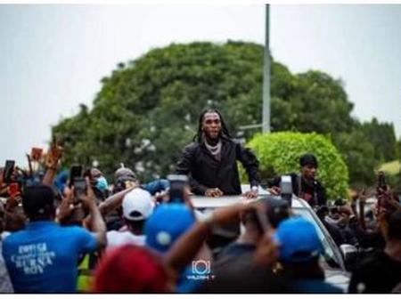 Check out other things that happened on Burna Boy's homecoming concert.