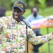 Ruto Welcomed Like A King In Nandi Hours After The County Rejecting The BBI Bill