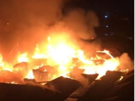 Another fire outbreak dawns Ghana again but this time from Sekondi — KessbenFM reports