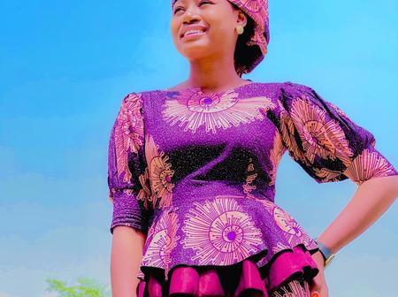 Stunning Pictures Of The Kannywood Actress, Maimuna Abubakar.