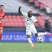 Serero plays full 90 minutes as Al Jazira drew against Shabab Al Ahli.