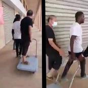 Watch What Black Guys Did To a White Man, Who Treat His Black Worker Like a Slave. Video