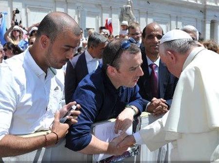 Meet Man Sired by a Catholic Priest Secretly