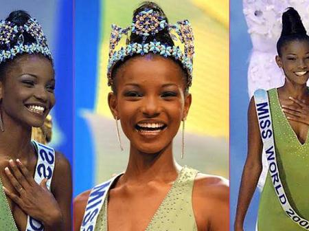 Meet the First Nigerian Who Won Miss World in 2001 (Photos)
