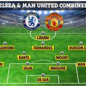 Chelsea and Manchester United Combined Xi Players For Each Position