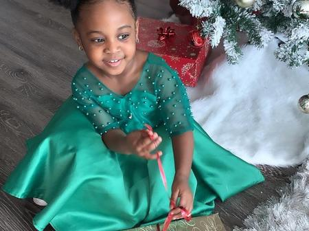 Cute Photos Of Davido's Second Daughter, Hailey Veronica Adeleke