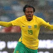 Percy Tau To Not Play For Bafana This Time?