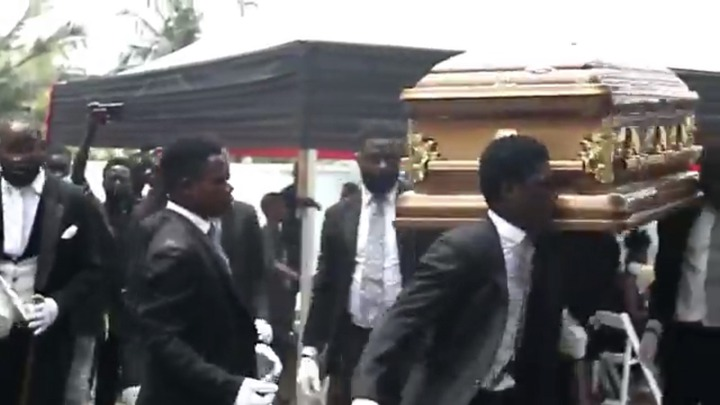 1ae38939fde9461389e6ba5da55db2c6?quality=uhq&resize=720 - The Last Moment The Dancing Pallbearers Danced With Eddie Nartey's Wife Coffin Before Her Burial