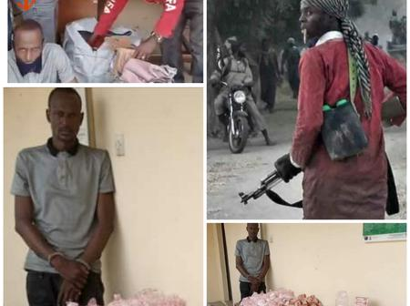 Checkout Photos Of The Foreigner Supplying Drugs To Boko Haram Terrorists