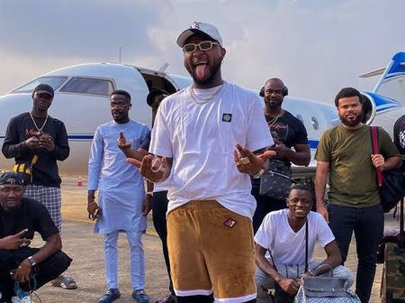 Davido shares video of himself alongside his gang showing-off their expensive wristwatches