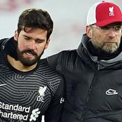 Jurgen Klopp pens emotional message to Alisson after father's death