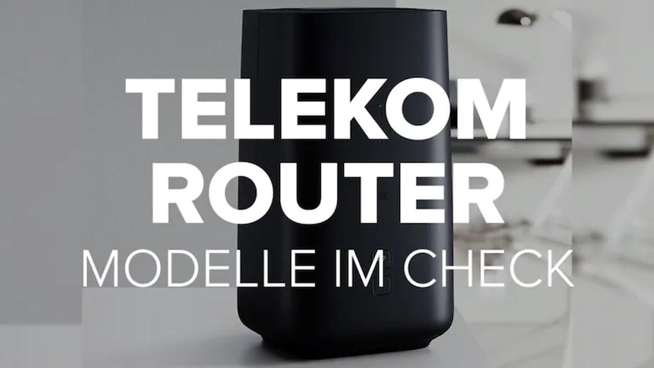 WLAN-Router bei der Telekom: Wer überzeugte im Test?