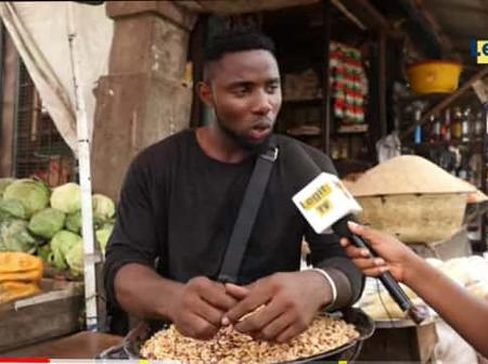 After I dropped out of school in 300level, I started selling groundnuts and I've built a house- Man