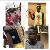 Policeman Slaps A Woman, Stabs A Man, Attacks 2 Others In Lagos & Crowd Gather Him