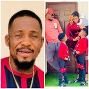 Junior Pope Stuns In Lovely Photos With His 2 Sons, Says,