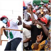 Edo 2020: See What The Residents Of Etsako Did To Obaseki During His Re-Election Campaign