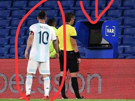 See What Messi Did Against Paraguay, That Made Fans Angry At Referee For Not Booking Him