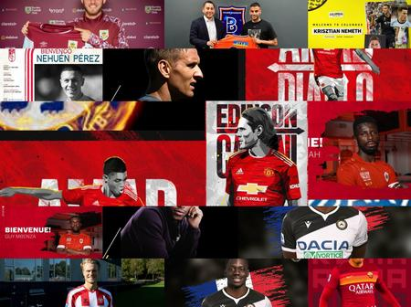 OFFICIAL: Transfer Done Deals Round-up As At 10:50pm, Check Out Whom Your Team Have Signed