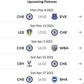 Chelsea Unbeaten Under Tuchel, How Many Points Can They Get From Their Next 5 Matches?