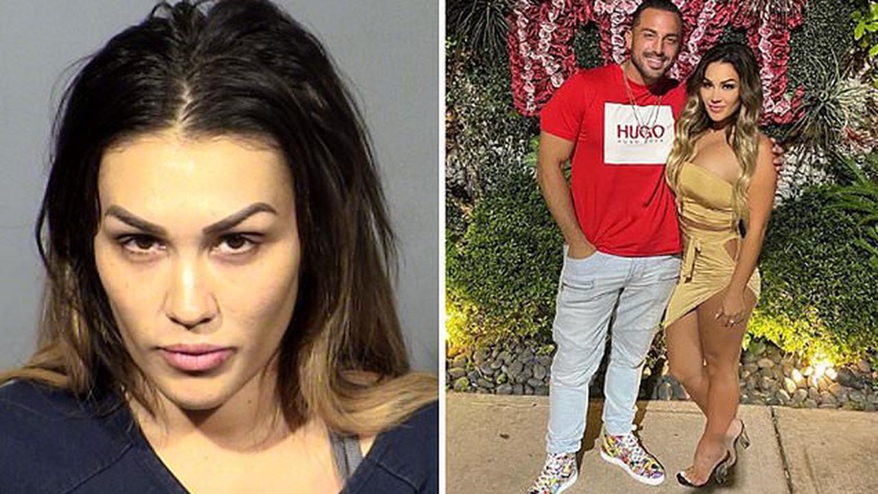 Jen Harley looks in mugshot after domestic violence arrest