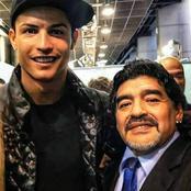 RIP: Check Out C Ronaldo's Emotional Tribute To Diego Maradona
