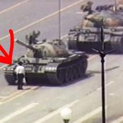 Story Of The Man That Bravely Blocked Many Armoured Tanks During A Protest