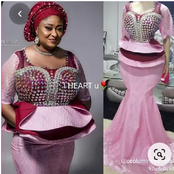 Matured Women, Rock And Slay These 50 Uncommon Madam Native Attires