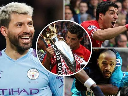 The Premier league record departing city legend, Aguero has set over Ronaldo, Henry and Suarez