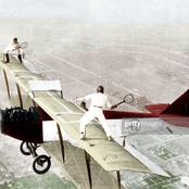 The Tennis game that was played on top of a flying an Aeroplane (photos)