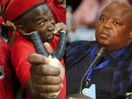 Julius Malema's EFF Threatens Chippa United Boss