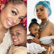 See Beautiful Photos Of Tekno's Baby Mama Lola Rae With Daughter Skye