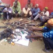 These Weapons Were Recovered From Gunmen Heading To Oyo, Check Out Pictures
