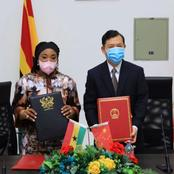 China Set To Build An Ultra Modern Foreign Ministry Annex After Meeting With Mrs Shirley Ayorkor